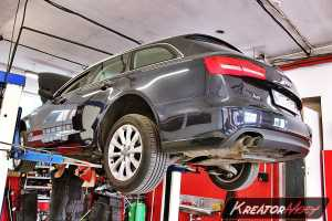 Usunięcie DPF Audi A6 C7 2.0 TDI 177 KM