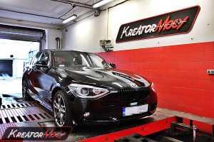 Strojenie BMW F20 116i 136 KM (automat)