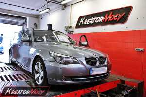 Chip tuning BMW 5 E60 3.0d 197 KM