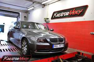 Chip tuning BMW 3 E91 3.0d 231 KM