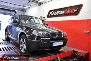 Chip tuning BMW X3 E83 3.0d 204 KM