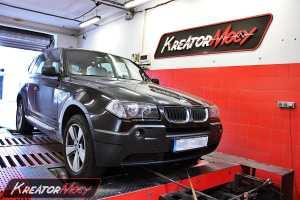 Chip tuning BMW X3 E83 3.0d 204 KM