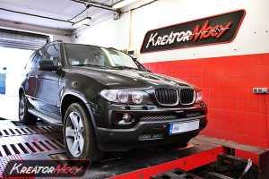 Strojenie BMW E53 X5 3.0d 218 KM