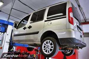 Usuwanie DPF Fiat Doblo 1.3 JTD 85 KM