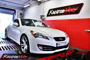 Chip tuning Hyundai Genesis 2.0 Turbo 214 KM