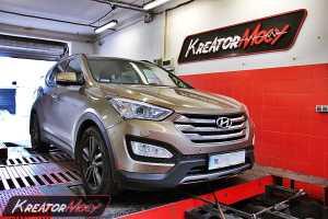 Chip tuning Hyundai Santa Fe 2.2 CRDI 145 kW