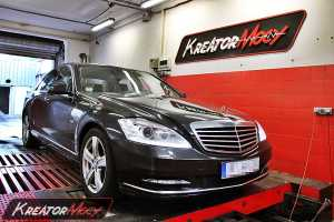 Chip tuning Mercedes W221 S 250 CDI 204 KM