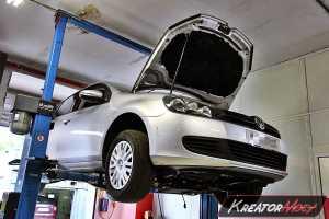 Usuwanie DPF VW Golf 6 1.6 TDI CR 105 KM
