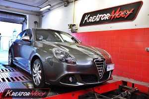 Chip tuning Alfa Giulietta 1.4 TB 170 KM TCT