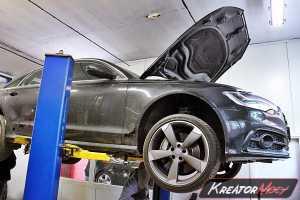 Usuwanie DPF Audi A6 C7 3.0 TDI 313 KM