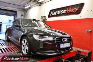 Modyfikacja Audi A6 C7 3.0 TDI CR 245 KM