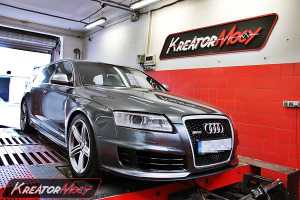 Chip tuning Audi RS6 C6 5.0 TFSI 580 KM