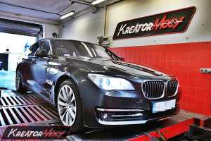 Chip tuning BMW 7 F01 750i 449 KM