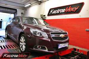 Chip tuning Chevrolet Malibu 2.0D 160 KM