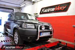 Chip tuning Land Rover Freelander 2.0D 112 KM
