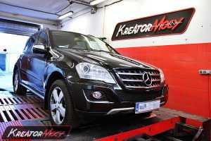 Podniesienie mocy w Mercedes W164 ML 350 CDI 231 KM