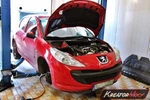 Usuwanie DPF Peugeot 206+ 1.4 HDI 68 KM