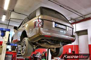 Zapchany DPF Range Rover Vogue 3.6 TDV8 272 KM