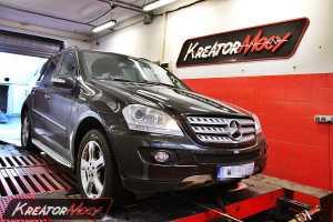 Podniesienie mocy Mercedes W164 ML 420 CDI 306 KM