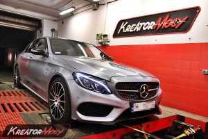 Chip tuning Mercedes W205 C 450 AMG 367 KM