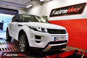 Strojenie Range Rover Evoque 2.2 TD4 150 KM
