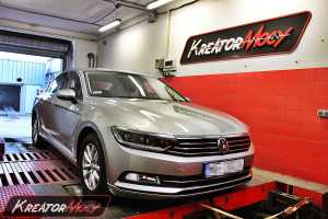 Chip tuning VW Passat B8 2.0 TDI 150 KM