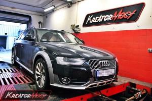 Chip tuning Audi A4 B8 Allroad 2.0 TDI 150 KM