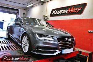 Chip tuning Audi A7 3.0 TFSI 310 KM (paliwo PB95)