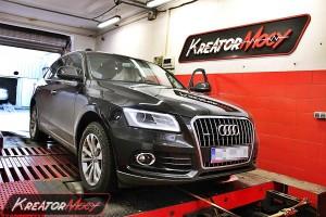 Chip tuning Audi Q5 2.0 TDI CR 190 KM