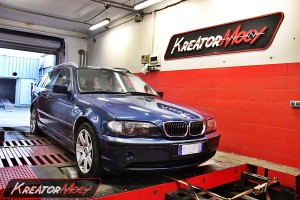 Chip tuning BMW E46 330xd 184 KM