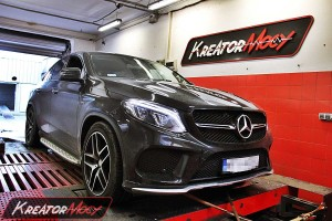 Chip tuning Mercedes C292 GLE 450 AMG 367 KM