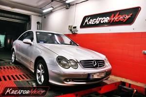 Chip tuning Mercedes W209 CLK 270 CDI 170 KM