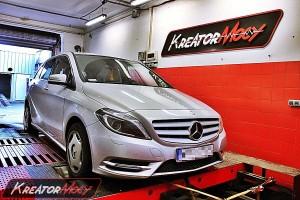 Chip tuning Mercedes W246 B 180 CDI 109 KM