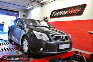 Chip tuning Toyota Avensis 2.0 D4D 126 KM (program Denso)