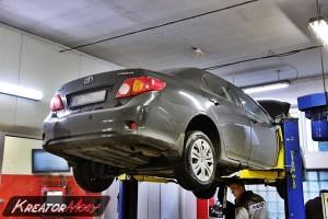 Usuwanie DPF Toyota Corolla 2.0 D4D 126 KM