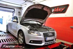 Strojenie Audi A4 B8 2.0 TDI CR 136 KM CAGB