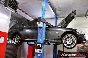 Usuwanie DPF BMW 3 E91 325d 197 KM