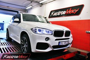 Chip tuning BMW X5 F15 3.0d 258 KM