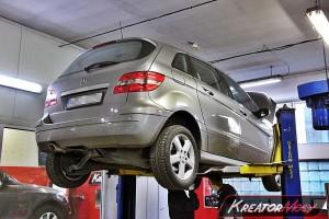 Usuwanie DPF Mercedes W245 B 200 CDI 140 KM