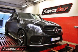 Chip tuning Mercedes GLE450 AMG 367 KM