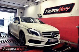 Chip tuning Mercedes W176 A 200 CDI 136 KM