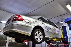 Usuwanie DPF Mercedes W211 E 220 CDI 150 KM