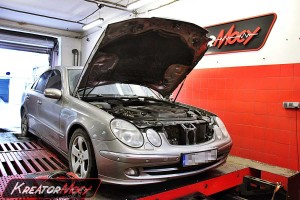 Chip tuning Mercedes W211 E 320 CDI 204 KM