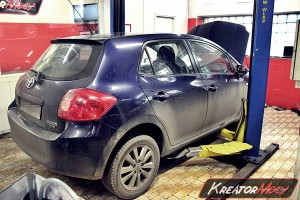 Usuwanie DPF Toyota Auris 2.0 D4D 126 KM