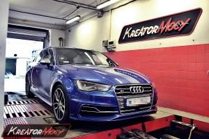 Podniesienie mocy Audi S3 8V 2.0 TFSI 300 KM S-Tronic