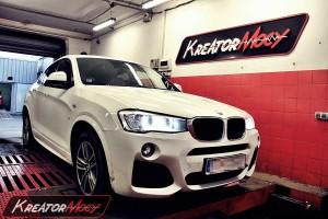 Podniesienie mocy w BMW X4 F26 xDrive20d 190 KM