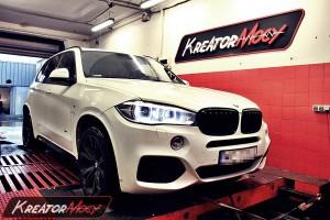 Strojenie BMW F15 X5 3.0d 258 KM