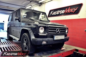 Chip tuning Mercedes W463 G 320 CDI 224 KM