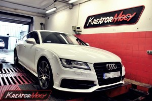 Chip tuning Audi A7 3.0 TDI CR 245 KM