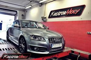 Chip tuning Audi S3 2.0 TFSI 265 KM